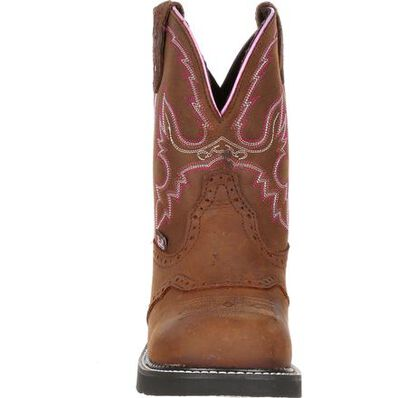 Justin Work Women's Steel Toe Western Work Boot, , large