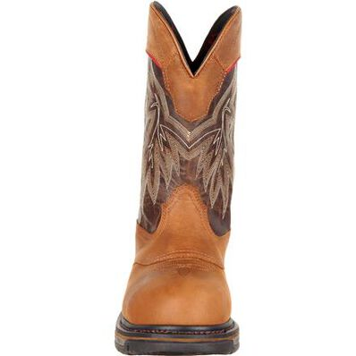 Rocky Iron Skull Composite Toe Waterproof Western Boot, , large