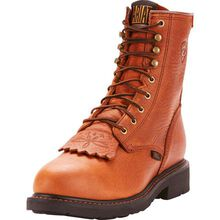 Ariat Cascade Men's 8-Inch Steel Toe Electrical Hazard Leather Work Boot
