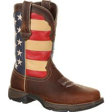 Lady Rebel™ by Durango® Steel Toe Patriotic Flag Work Boot