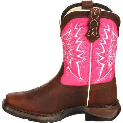 LIL' DURANGO® Big Kid Let Love Fly Western Boot, , large