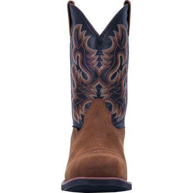 Laredo Rockwell Men's 11-inch Steel Toe Electrical Hazard Waterproof Western Pull-On Work Boot, , large