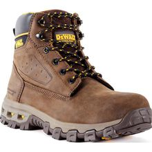 DEWALT® Halogen Men's Aluminum Toe Electrical Hazard Leather Work Hikers