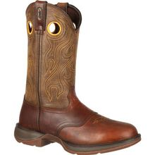 Rebel™ by Durango® Brown Saddle Western Boot
