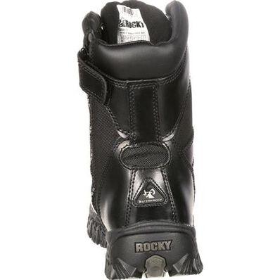 Rocky AlphaForce Zipper Composite Toe Public Service Boot, , large