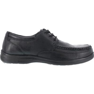 Florsheim Work Wily Women's Steel Toe Static-Dissipative Work Moc Toe Oxford, , large