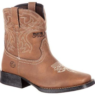 Lil' Outlaw™ by Durango® Big Kids' Embossed Western Boot, , large
