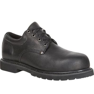 Lehigh Safety Shoes Unisex Composite Toe Work Oxford, , large
