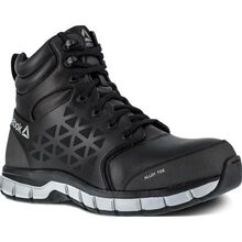 Reebok Sublite Cushion Work Men's 6 inch Alloy Toe Electrical Hazard Athletic Work Shoe