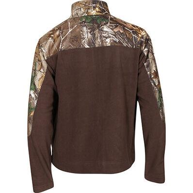 Rocky SilentHunter Fleece Jacket, Brown w/RLTRE XTRA, large