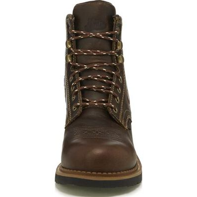 Justin Work Gypsy Women's 6 inch Composite Toe Electrical Hazard Waterproof Western Lacer Work Boot, , large
