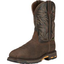 Ariat WorkHog Men's 11 inch Composite Toe Internal Met-Guard Waterproof Western Work Boot