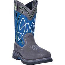 Dan Post Storm Surge Men's 11-inch Composite Toe Electrical Hazard Waterproof Western Work Pull-On Boot