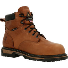 Rocky IronClad USA Made Steel Toe Waterproof Work Boots