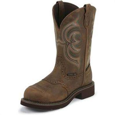 Justin Original Workboots Gypsy Women's Steel Toe Waterproof Western Work Boot, , large