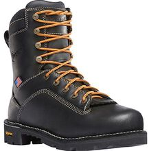 Danner Quarry USA Women's 7 Inch Aluminum Toe Electrical Hazard Waterproof Leather Work Boot
