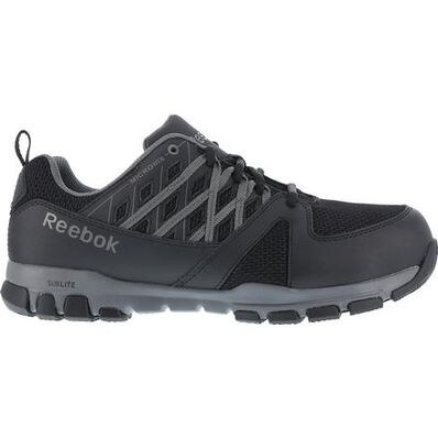 Reebok Sublite Steel Toe Static-Dissipative Slip-Resistant Work Athletic Shoe, , large