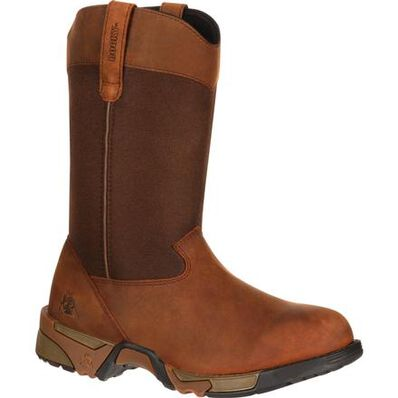 Rocky Women's Aztec Pull-On Work Boot, , large