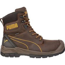 Puma Safety Conquest CTX Men's 7 inch Composite Toe Electrical Hazard Waterproof Side Zip Work Boot
