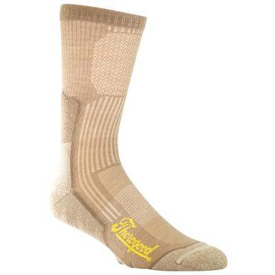 Thorogood Crew Compression Coyote Brown Socks, , large