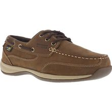 Rockport Works Sailing Club Women's Steel Toe Internal Met Guard Boat Shoe