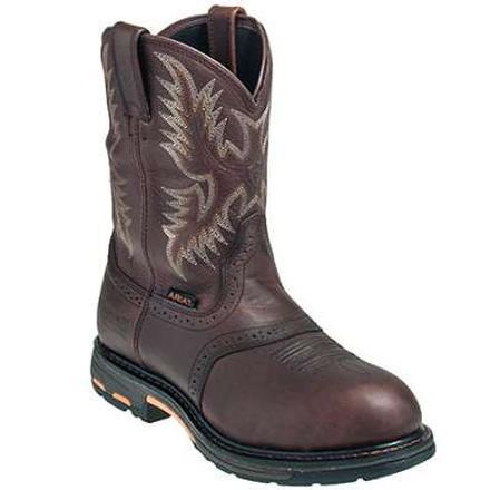 7533bd0b31e Ariat WorkHog H2O Composite Toe Waterproof Western Work Boot