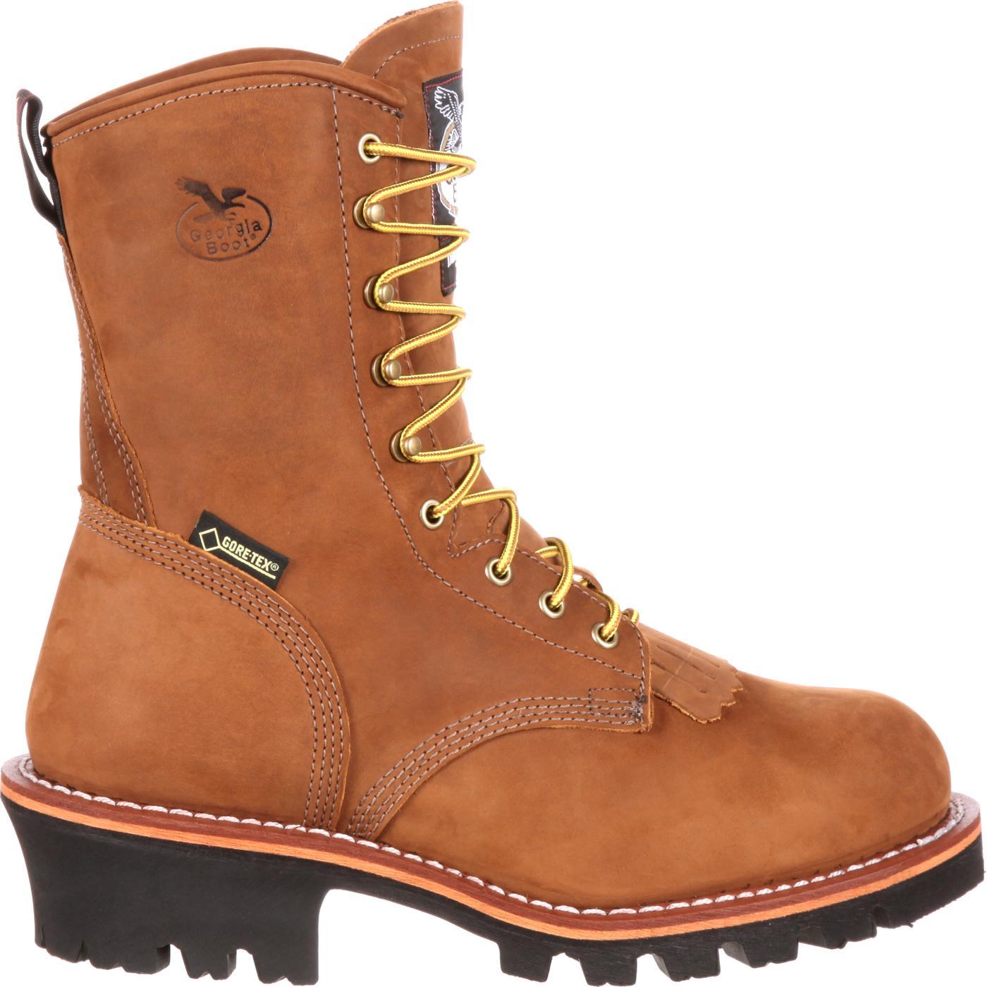 Georgia Logger Insulated Gore Tex 174 Steel Toe Work Boots