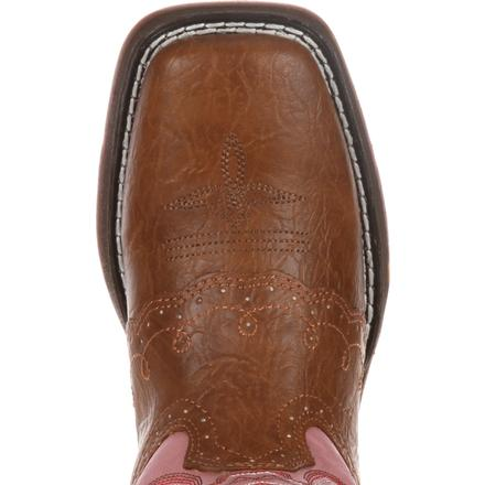 LIL' DURANGO® Little Kid Tan Lacey Western Boot, , large