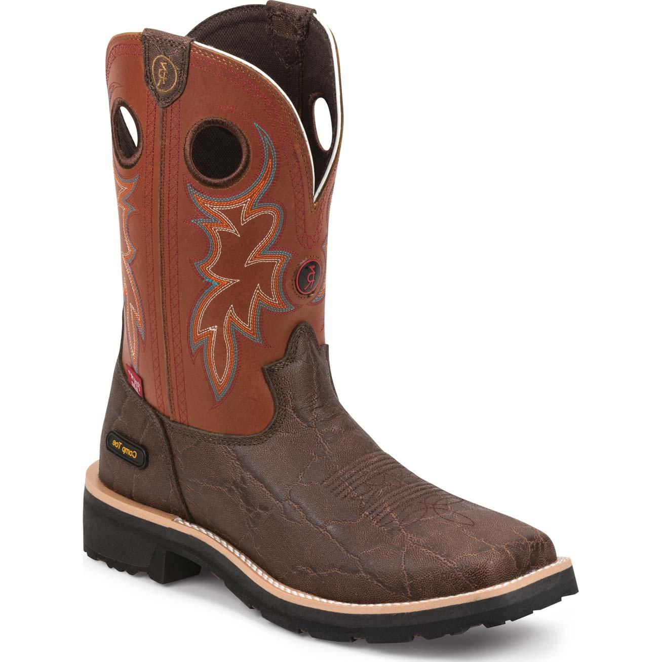 6d6fd4a285e Tony Lama 3R Composite Toe Western Work Boot