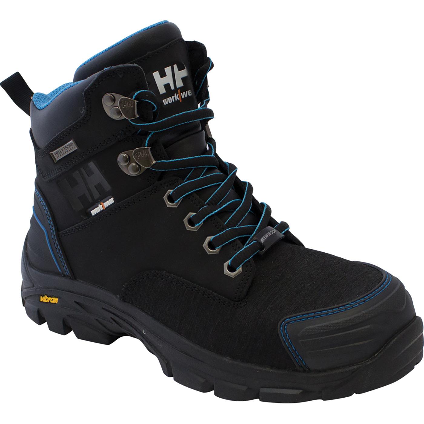 25d0d0f0414 Helly Hansen Bergen Women's 6 inch Black Leather Composite Toe ...