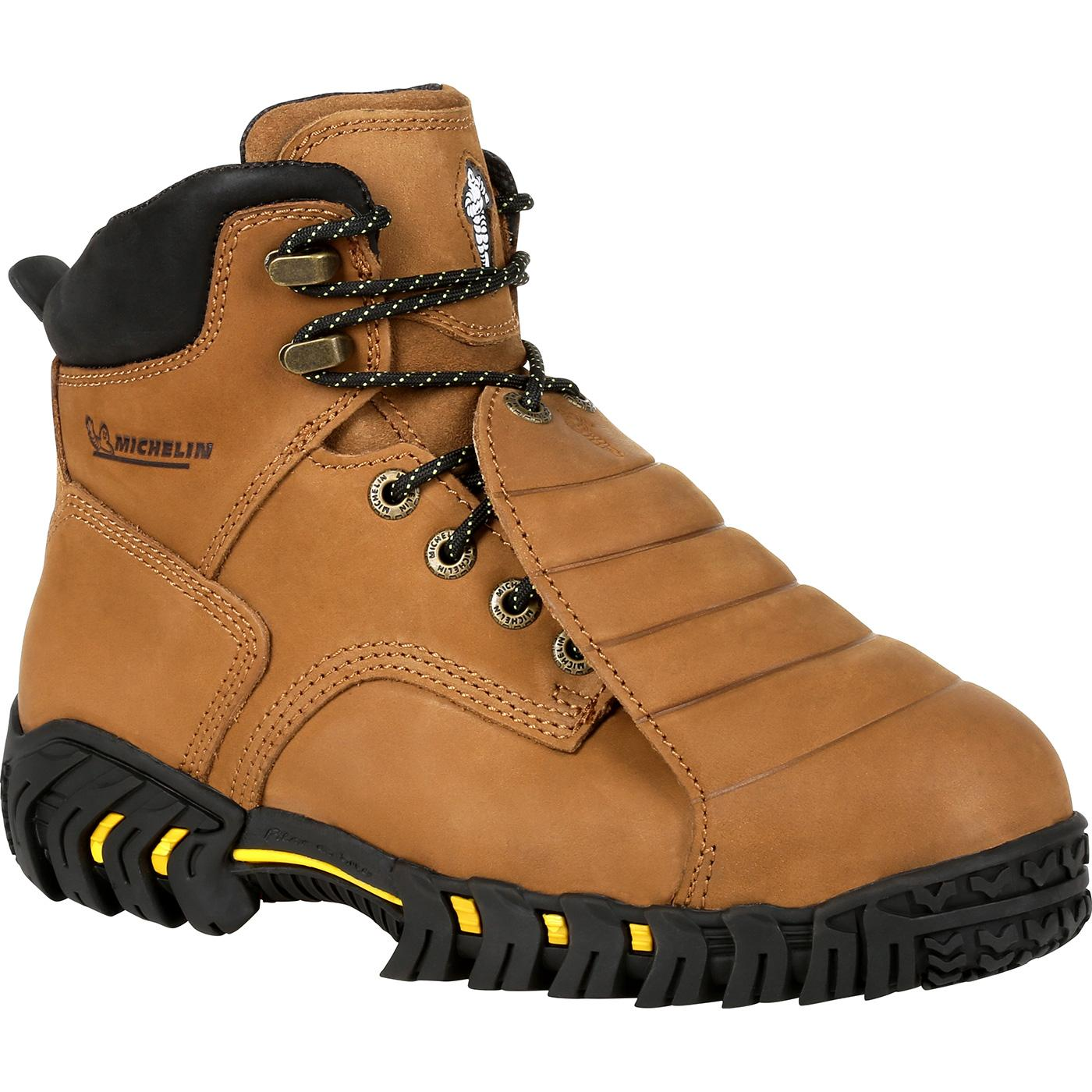 0f187e7a03c Michelin® Sledge Steel Toe Metatarsal Work Boots