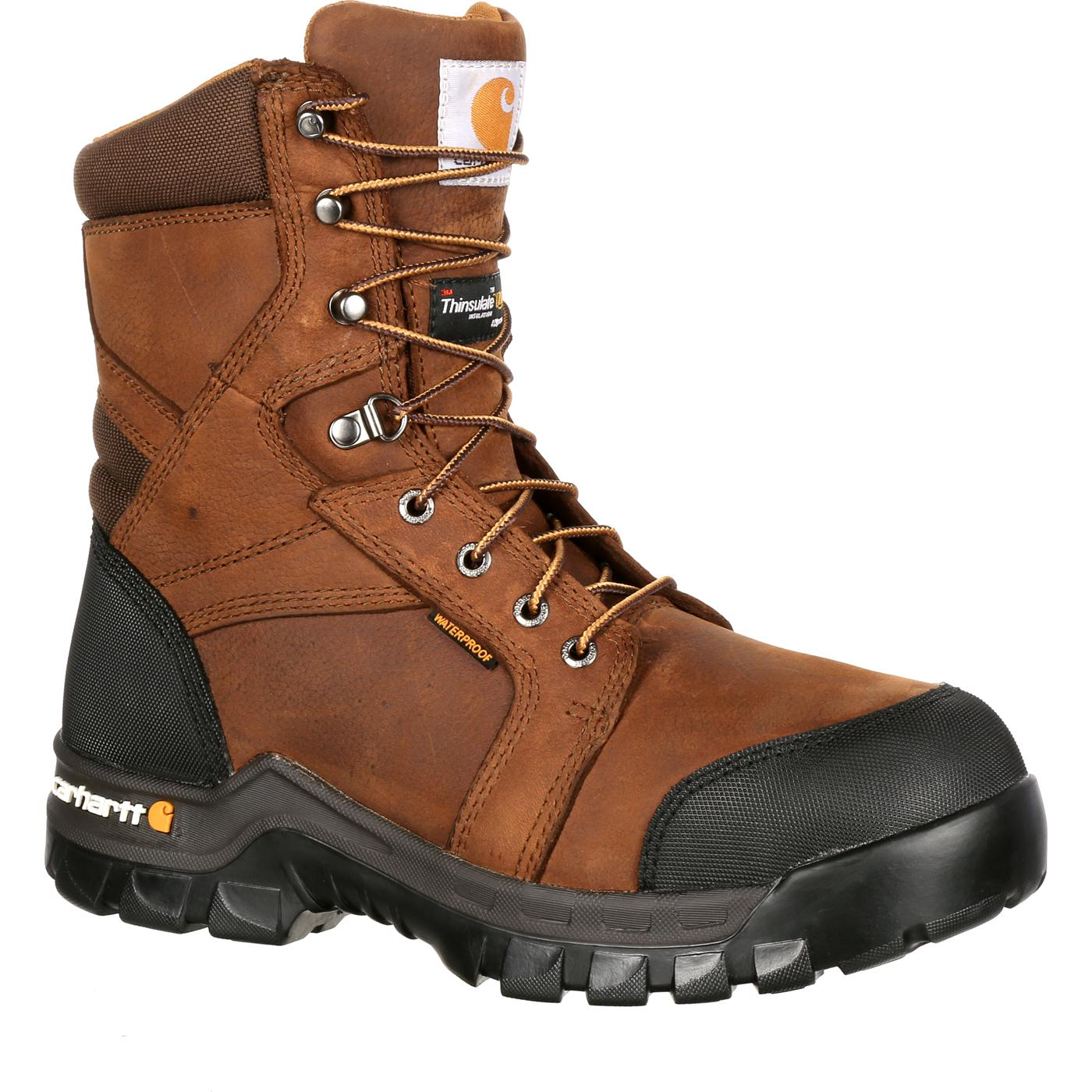 Carhartt Rugged Flex Ct Waterproof Insulated Work Boot