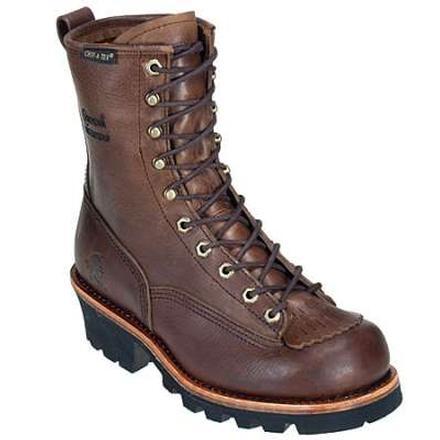 967180dbc93 Chippewa Bay Apache Waterproof Lace-to-Toe Logger Work Boot