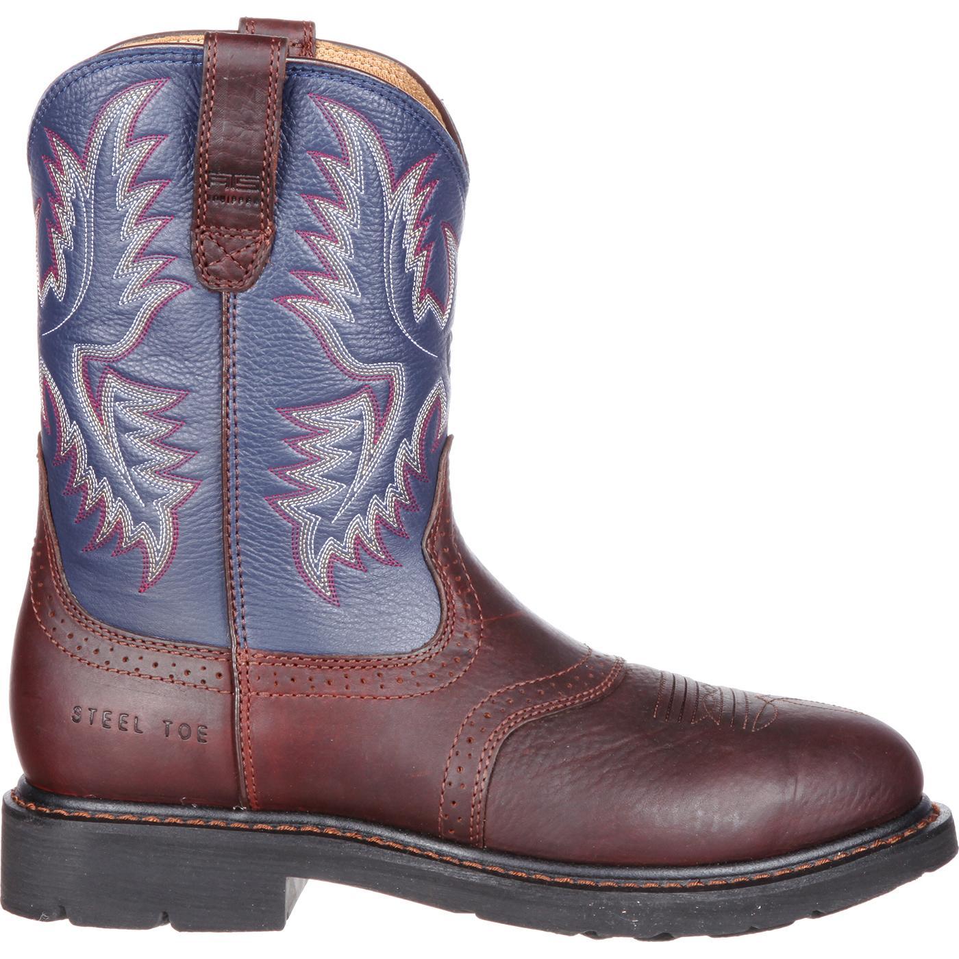 b04d0db1044 Ariat Sierra Saddle Steel Toe Western Work Boot