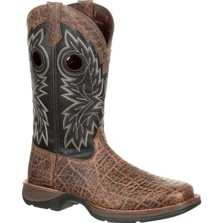 Rebel by Durango Elephant Grain Western Boot, , large