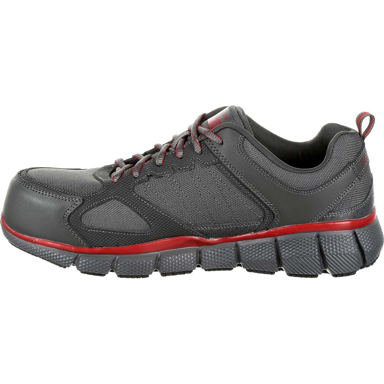 Loading zoom. SKECHERS Telfin Composite Toe Puncture-Resistant  Slip-Resistant Work Athletic Shoe ... f93f20a80fe4