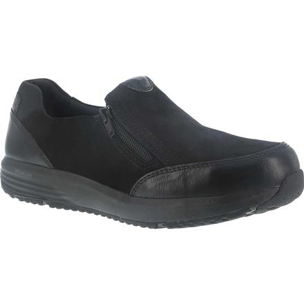 Rockport Works truSTRIDE Work Women's Steel Toe Work Slip-On Oxford