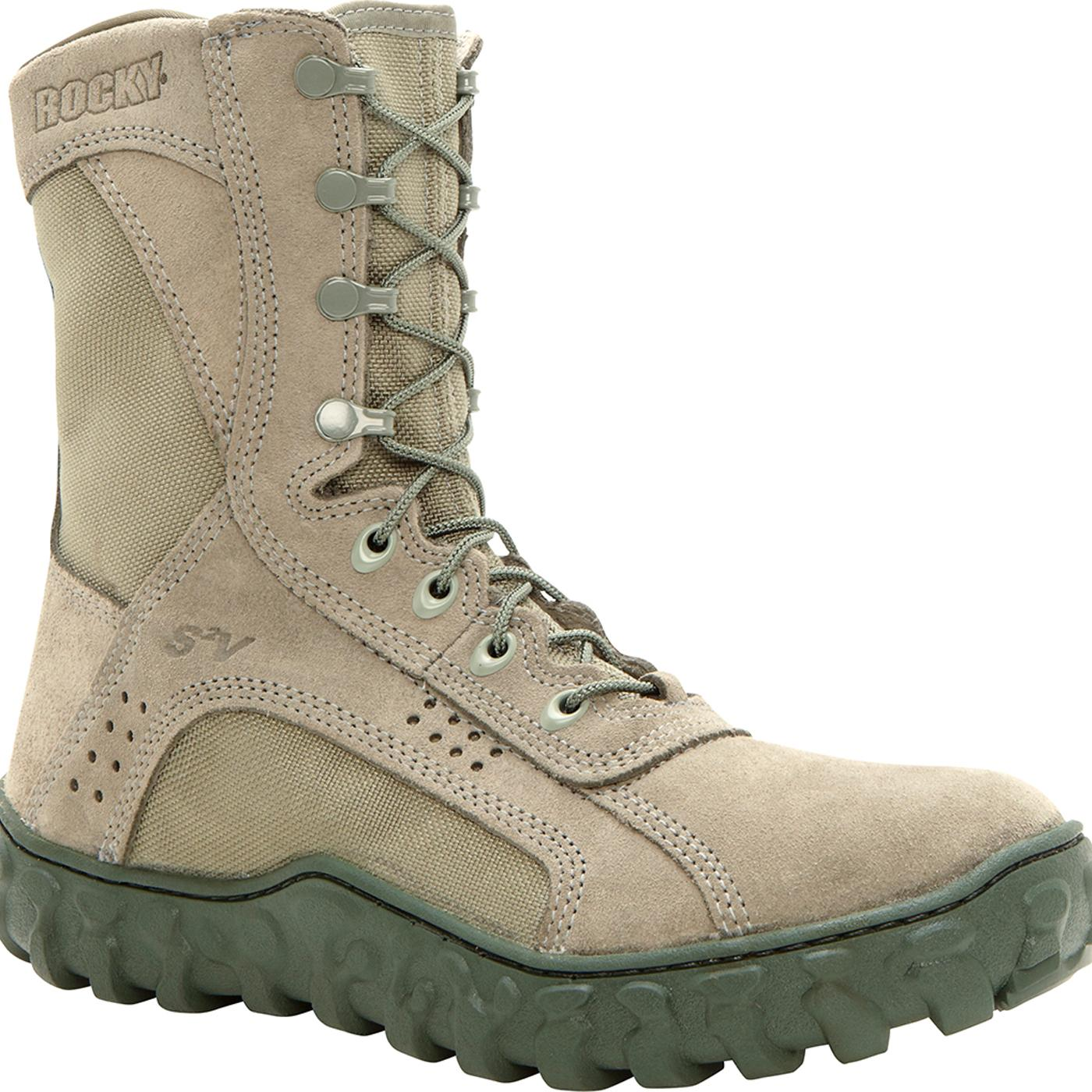 Sage Green Steel Toe Rocky S2v Military Boot Fq0006108