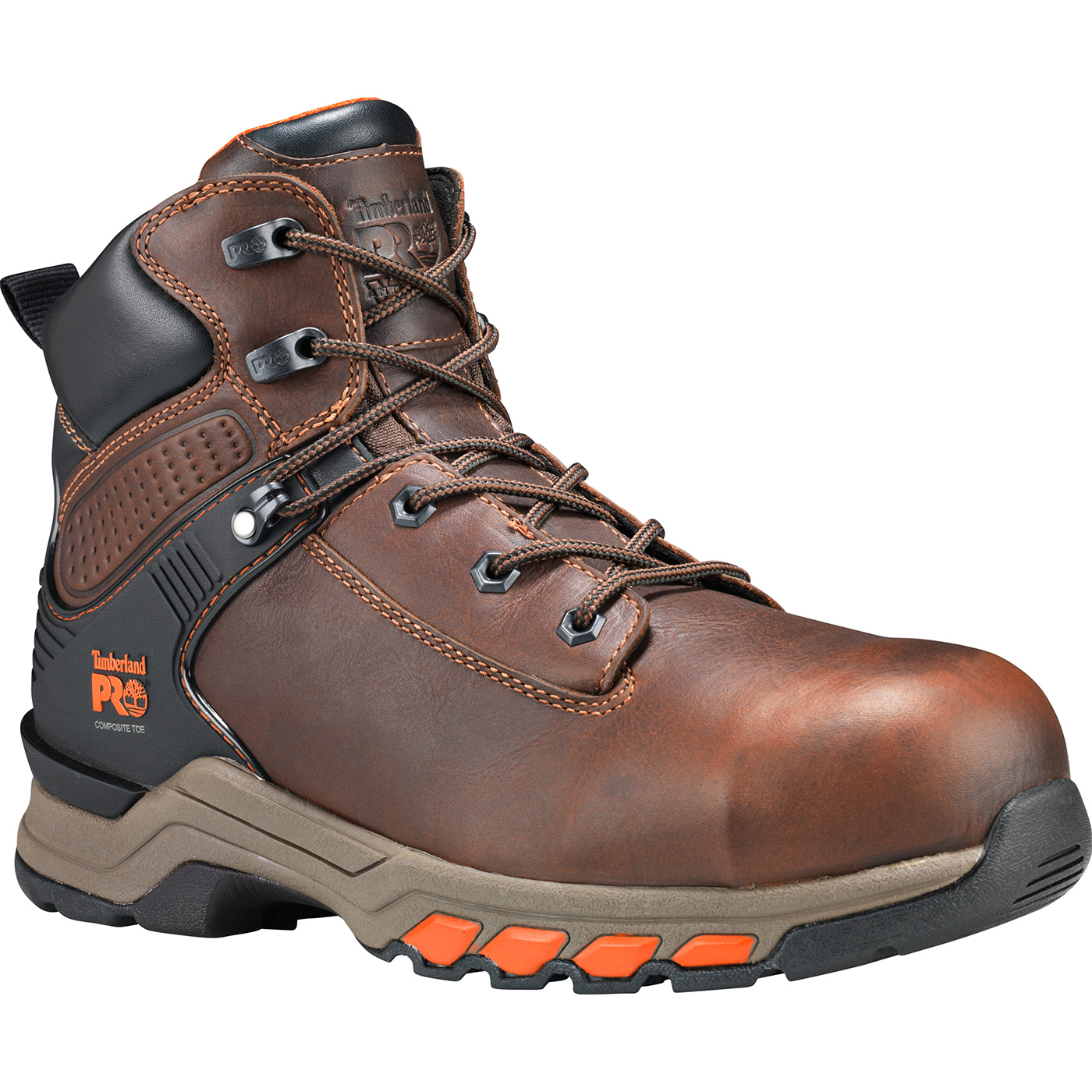 b7e3dfb84f8 Timberland PRO Hypercharge Men's 6 inch Composite Toe Electrical Hazard  Work Hiker