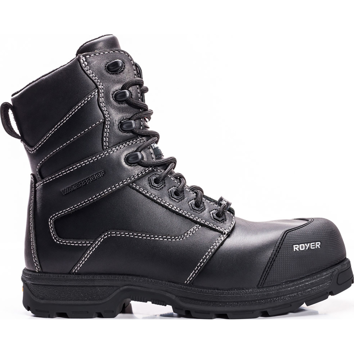 49d06fec24a Royer Agility Arctic Grip Men's 8 inch Composite Toe CSA Puncture-Resistant  Waterproof 400G Insulated Work Boot