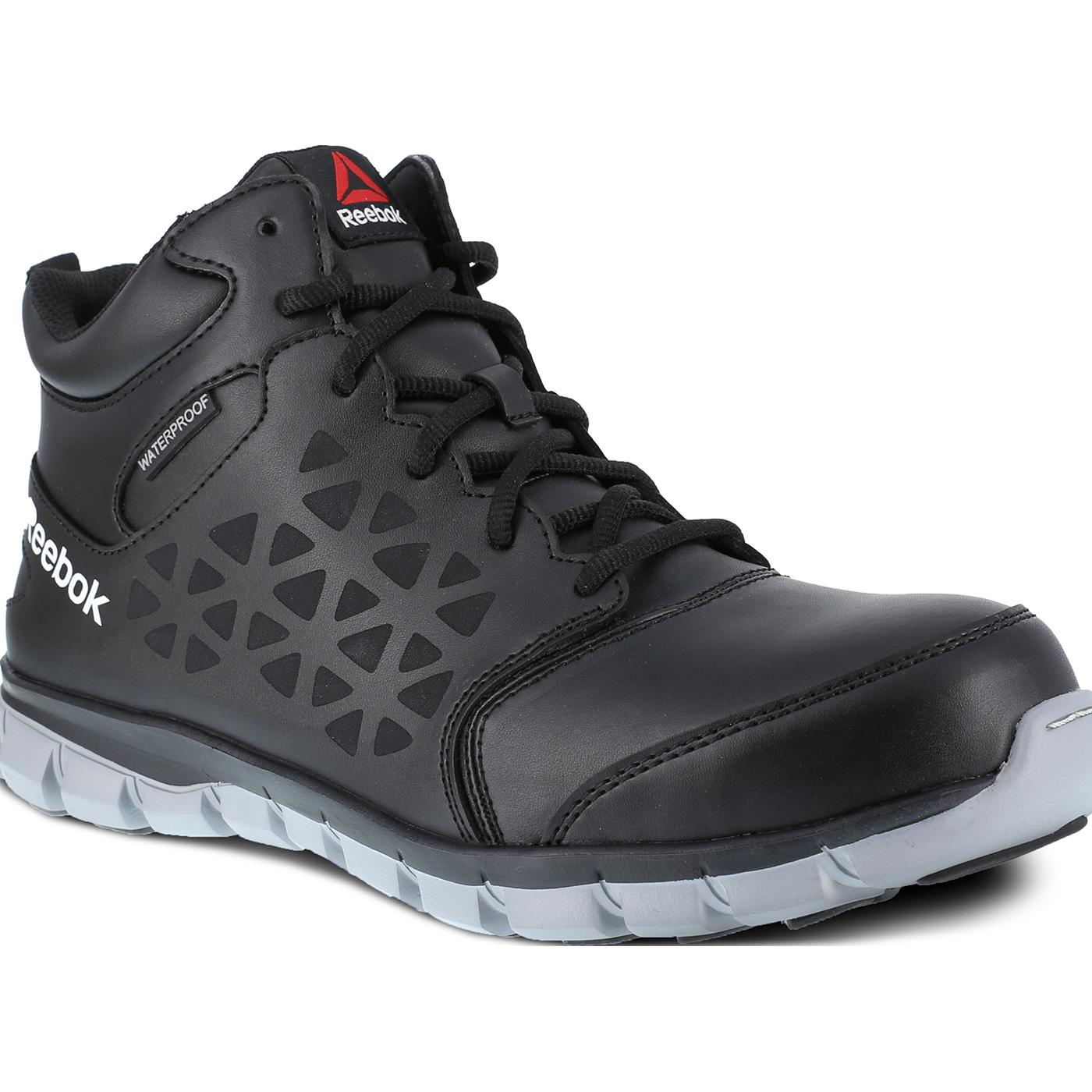c243eee891c8e Reebok Sublite Cushion Work Men's Composite Toe Electrical Hazard  Waterproof Mid-Cut Athletic Shoe