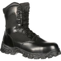 Rocky AlphaForce Zipper Composite Toe Public Service Boot, , medium