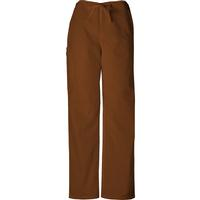 Cherokee Unisex Short Chocolate Drawstring Pant, , medium