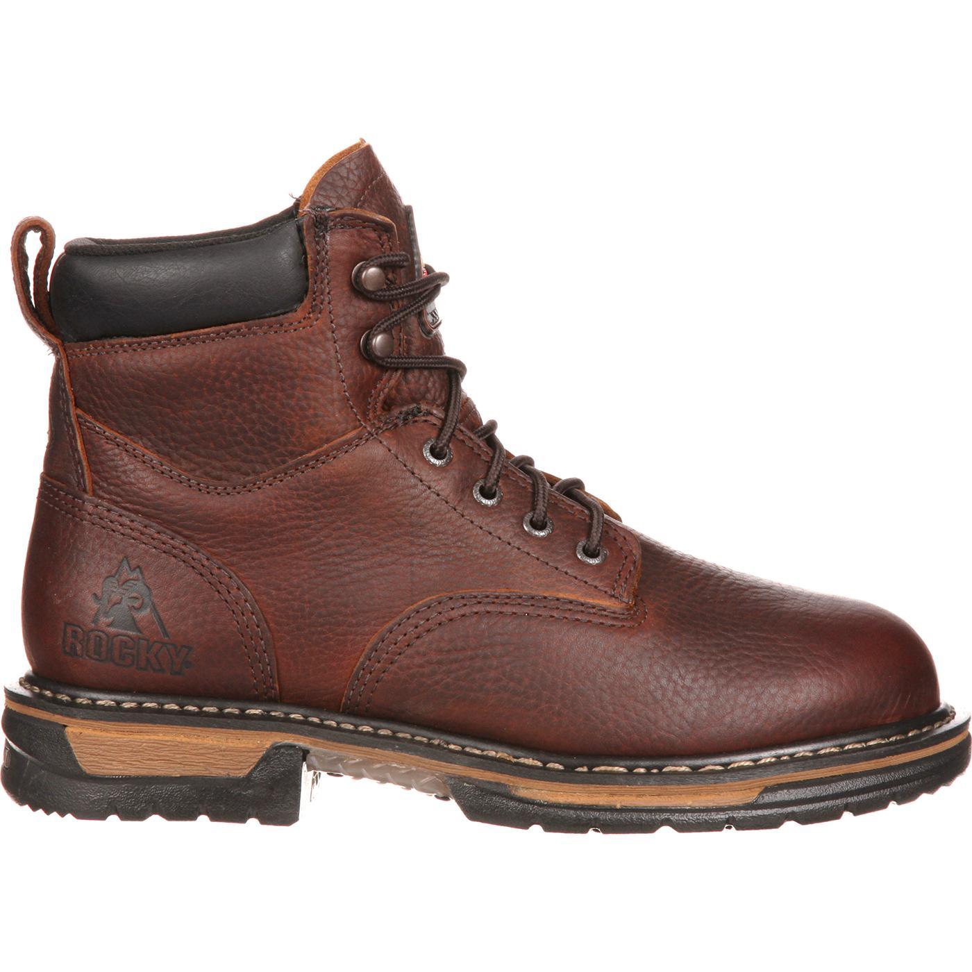 156132ce364 Rocky IronClad Steel Toe Waterproof Work Boots