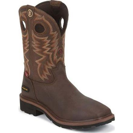 Tony Lama Briar Grizzly 3R Composite Toe Waterproof Western Work Boot, , large