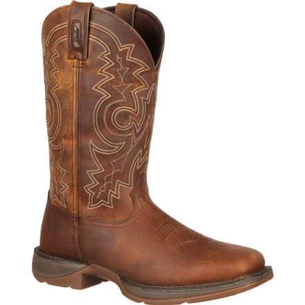 Rebel by Durango Steel Toe Pull-On Western Boot, , large