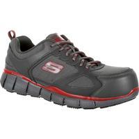 SKECHERS Telfin Composite Toe Puncture-Resistant Slip-Resistant Work  Athletic Shoe b0a4d99425e