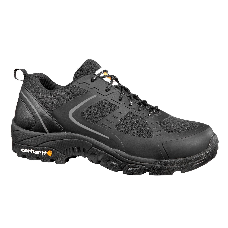 f7bbebcce99 Carhartt Men's Lightweight Low 3 inch Steel Toe Electrical Hazard Black  Work Hikers