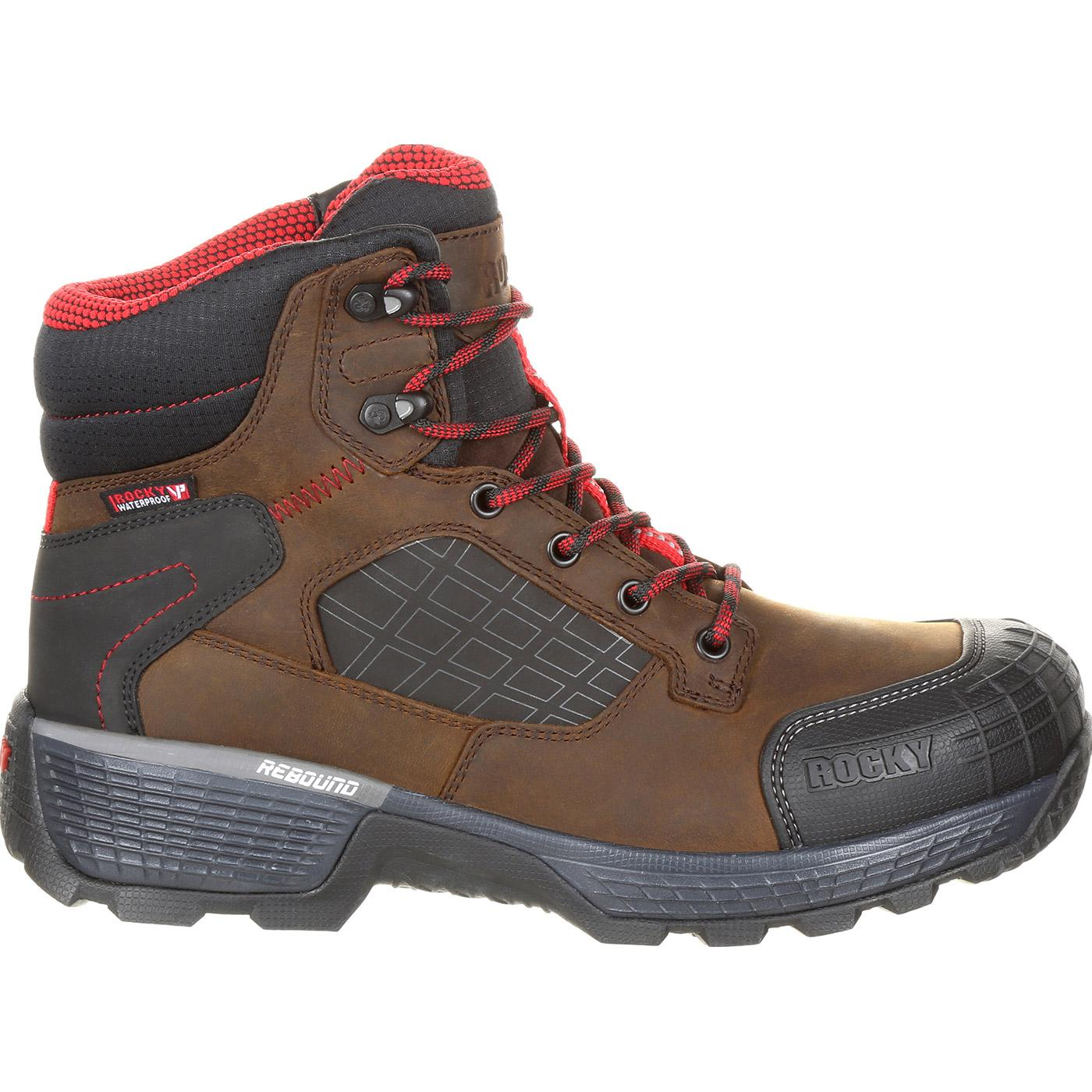 299d2cecea5 Rocky Treadflex Composite Toe Waterproof Work Boot