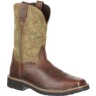 Justin Work Stampede Driller Steel Toe Pull-On Work Boot, , medium